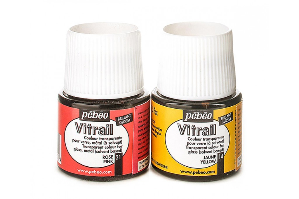 Краска витражная Pebeo Vitrail на основе растворителя 45 мл