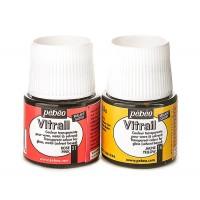 Краска витражная Pebeo Vitrail на основе растворителя 45 мл (22 цвета)