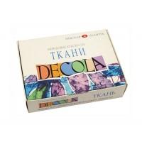 Набор красок по ткани Decola 12 цветов по 20 мл