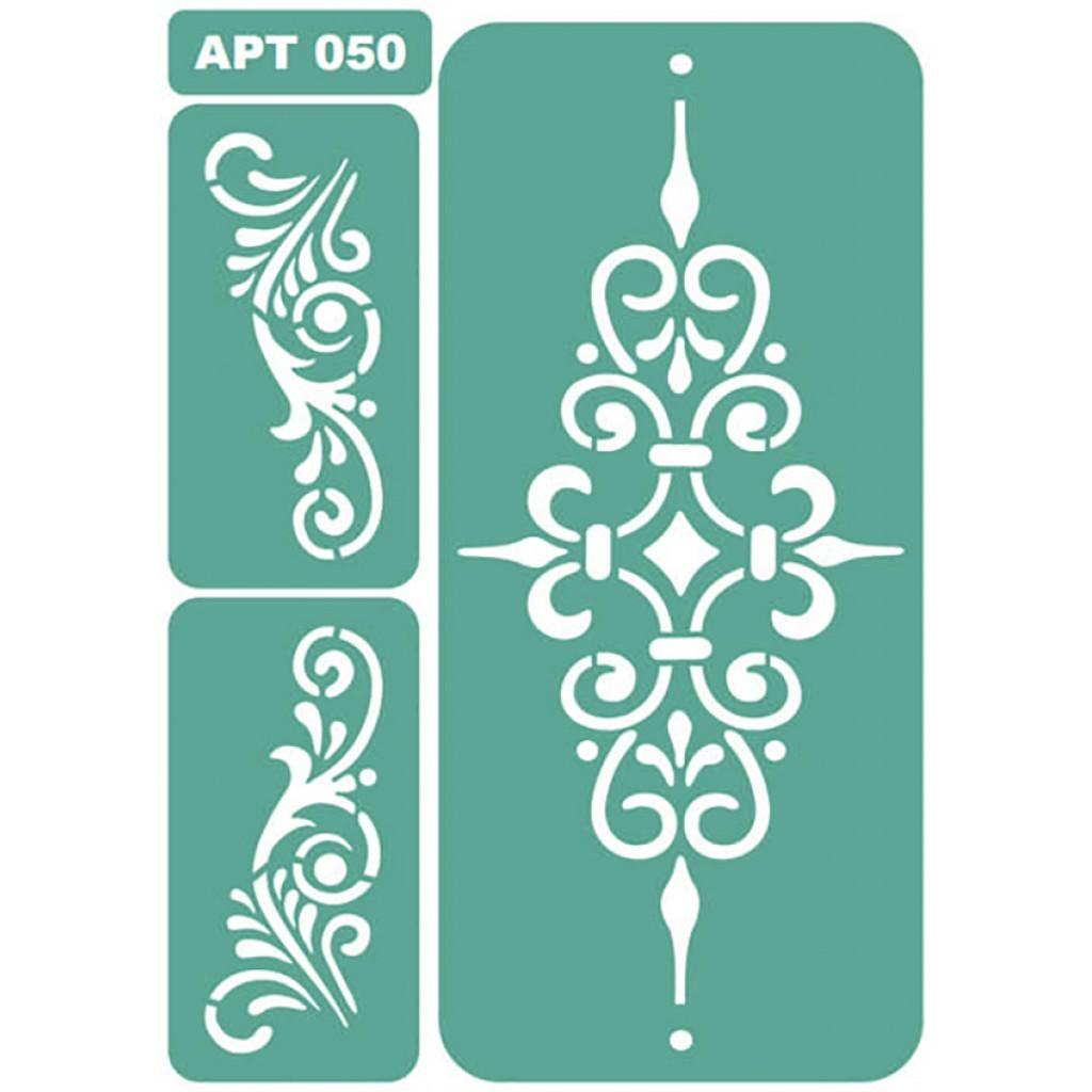 Как сделать своими руками трафареты для декора стен и мебели? 84