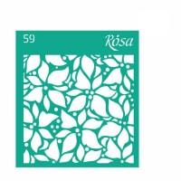 Трафарет Rosa № 59 Новый Год 9х10см