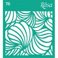 Трафарет Rosa № 76 Текстуры 9х10см