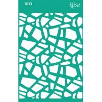 Трафарет Rosa № 1813 Текстуры 13x20см