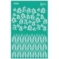Трафарет Rosa № 1140 Цветы 13х20см