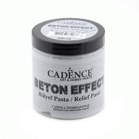 Паста мелкозерниста эффекта бетона, 250 мл, Beton Effect, Cadence