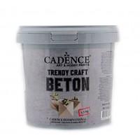 Сухая смесь Cadence Trendy Craft Beton имитации эффекта бетона 1.5 кг