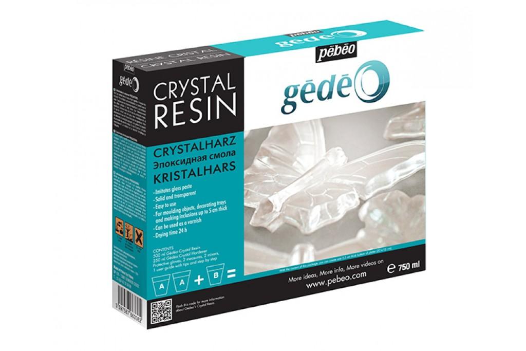 Глазурь эпоксидная Pebeo Gedeo Resine Cristal двухкомпонентная 750 мл