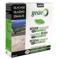 Глазурь эпоксидная Pebeo Gedeo Resine Glacage Biorganic двухкомпонентная 300 мл