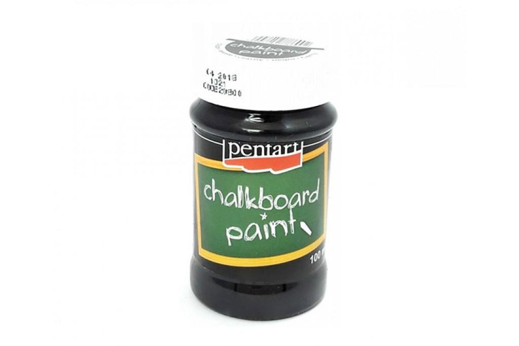 Краска Pentart Chalboard с эффектом грифельной доски 100 мл