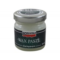 Паста восковая Pentart Wax Paste прозрачная 30 мл