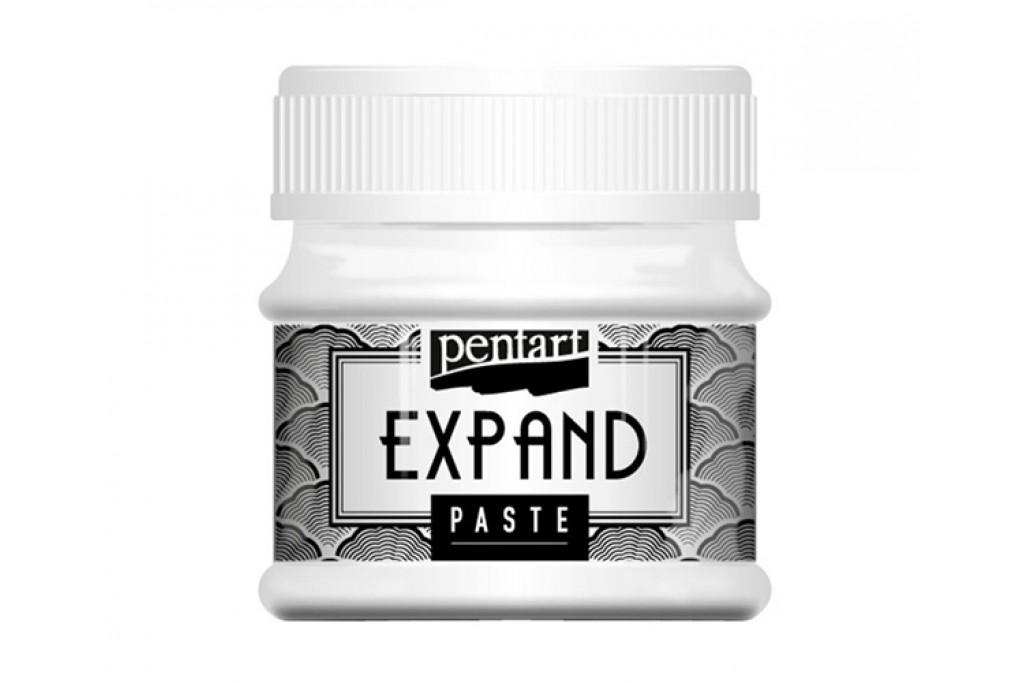 Паста структурная Pentart Expand объемная белая 50 мл (5997412794557)