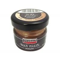 Паста восковая Pentart Wax Paste бронза 30 мл