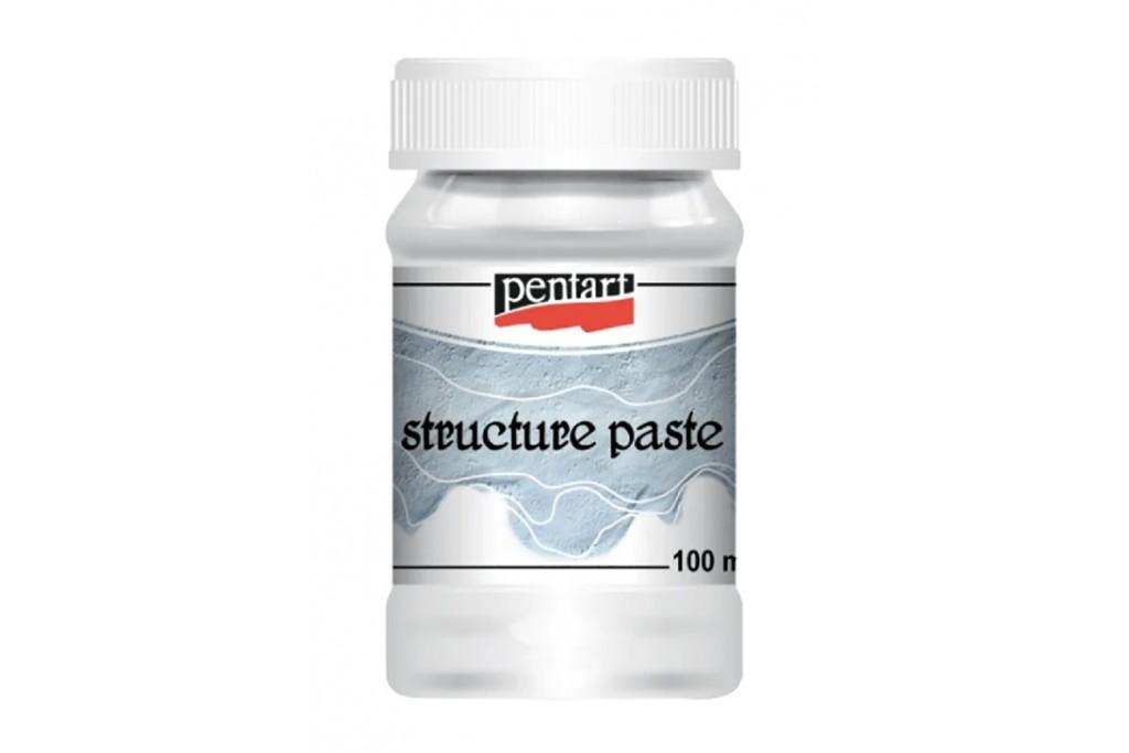 Паста структурная Pentart Structure Paste белая 100 мл