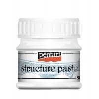 Паста структурная Pentart Structure Paste белая 50 мл