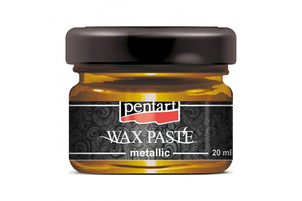 Паста восковая Pentart Wax Paste медовое золото 30 мл