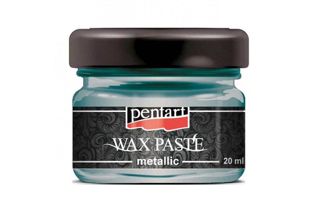 Паста восковая Pentart Wax Paste зеленое золото 30 мл