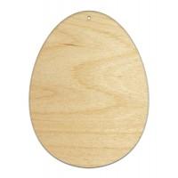 Высечка, Яйцо, 4мм, фанера (3 размера)