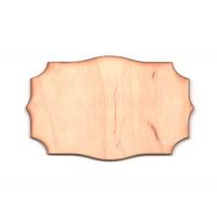 Высечка, Шильда 3, 4мм, фанера (4 размера)
