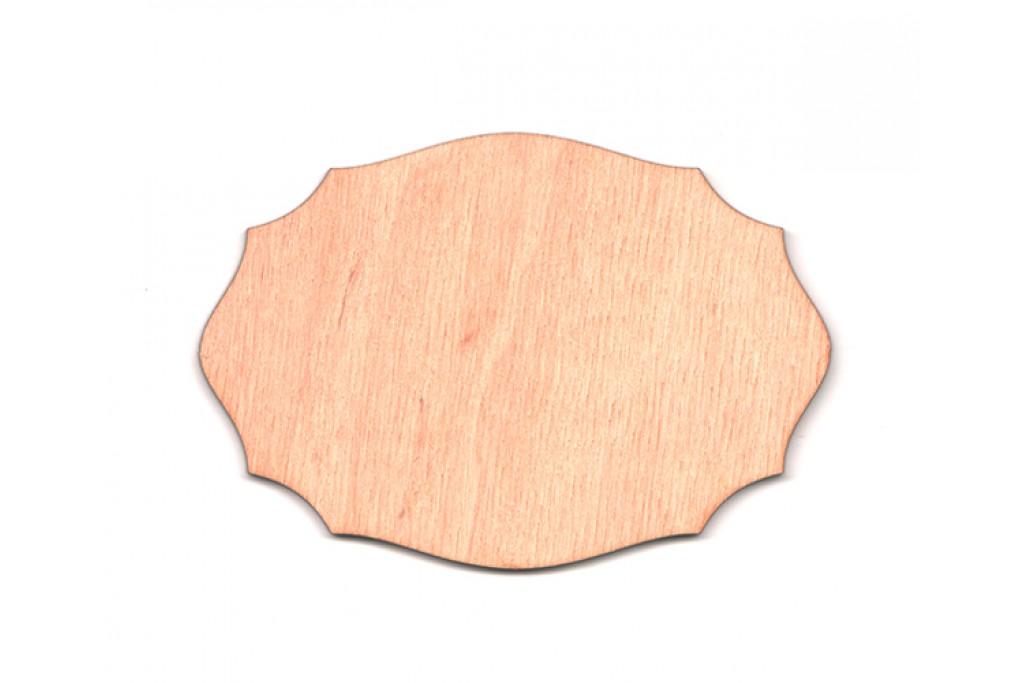 Высечка для декупажа и декорирования, Шильда 4, 4мм, фанера