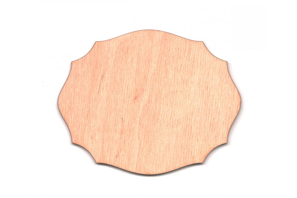 Высечка для декупажа и декорирования, Шильда 6, 4мм, фанера