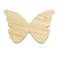 Высечка, Бабочка 1, 4мм, фанера (2 размера)