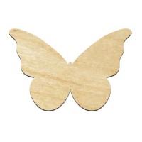 Высечка, Бабочка 2, 4мм, фанера (2 размера)