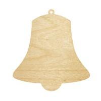 Высечка, Колокольчик 2, 4мм, фанера (2 размера)