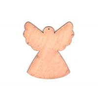 Высечка, Ангел 2, 4мм, фанера (3 размера)