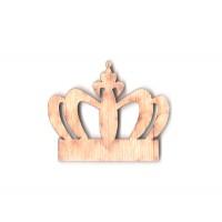 Высечка, Корона 3, 6см, 4мм, фанера