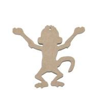 Подвеска обезьяна №2, 10см, МДФ