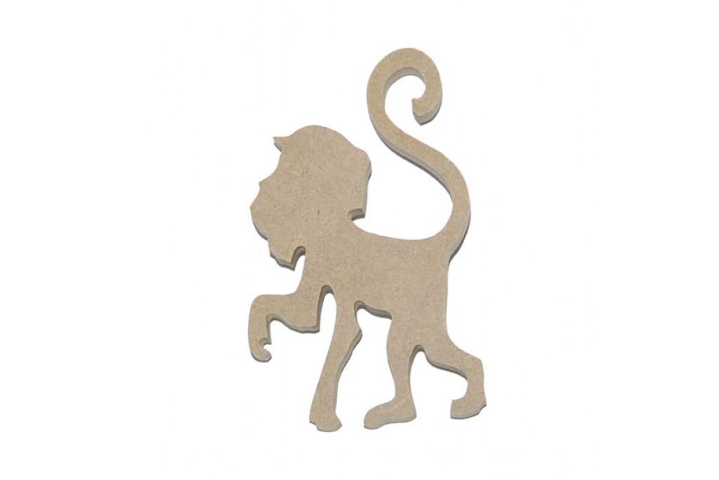 Подвеска для декупажа, обезьяна №5, 10см, МДФ