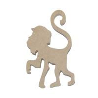Подвеска обезьяна №5, 10см, МДФ
