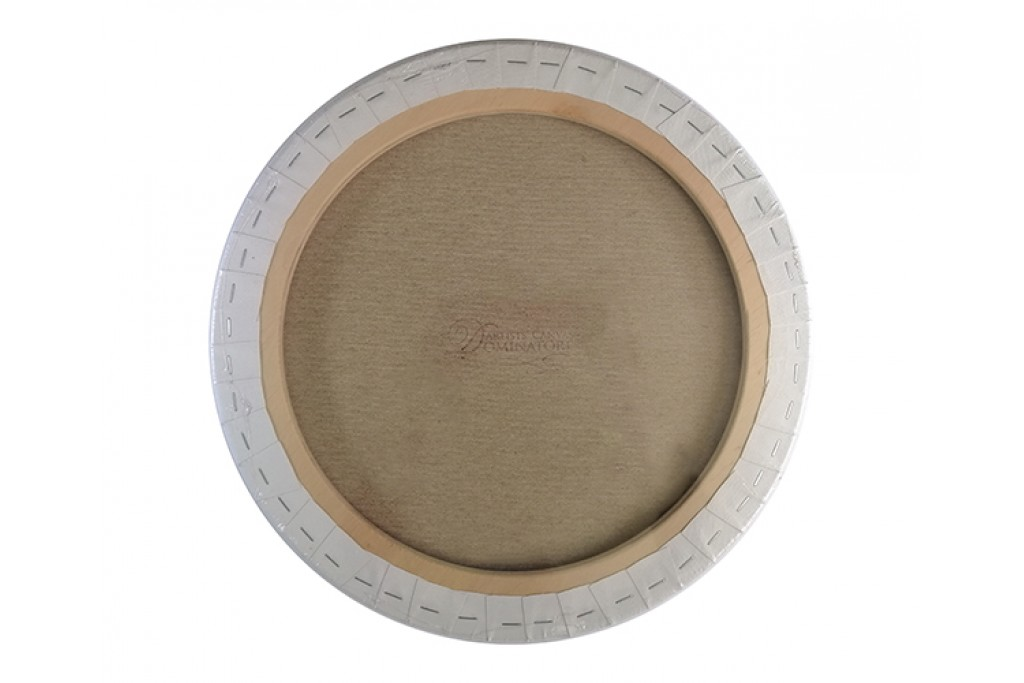 Холст на подрамнике Dominatore круглый хлопок акриловый грунт 70 см