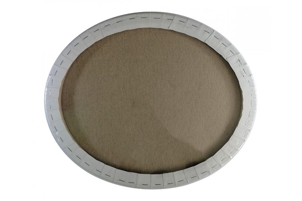 Холст на подрамнике Dominatore овальный хлопок акриловый грунт 38 x 32 см