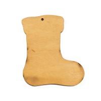 Высечка, Носок 2, 4мм, фанера (3 размера)