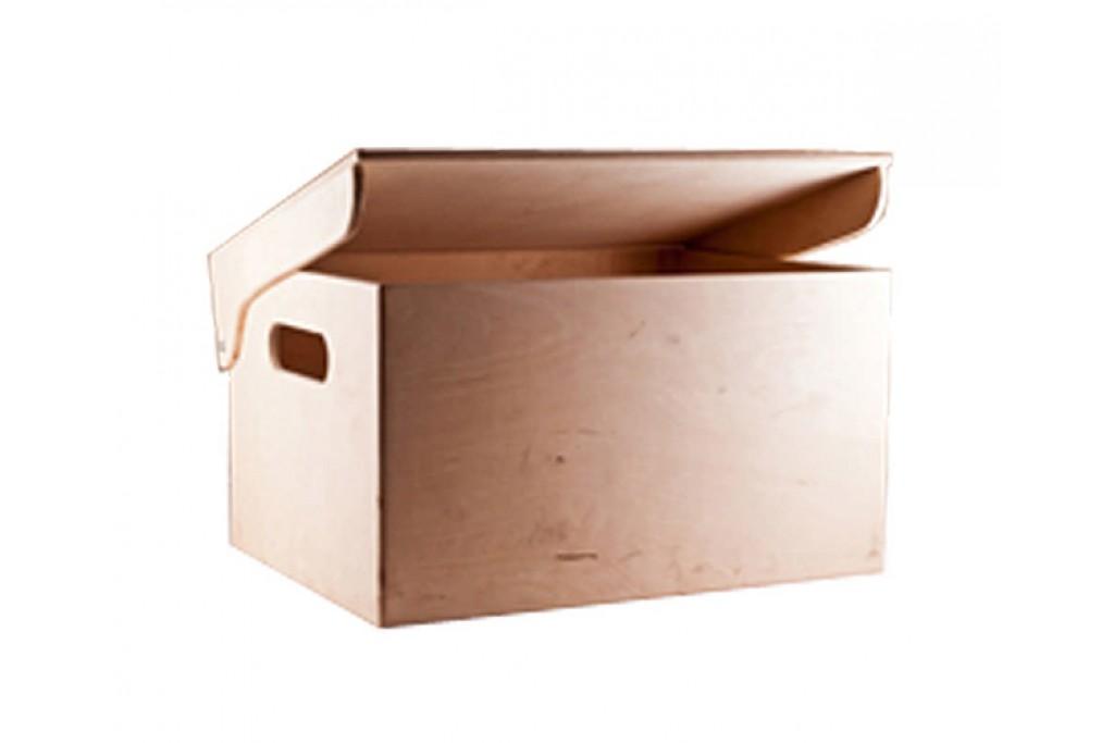 Заготовка для декупажа, ящик для мелочей с откидной крышкой, фанера