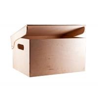 Ящик для мелочей с откидной крышкой, фанера (3 размера)