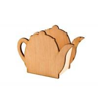 Подставка кухонная, чайник, 12х164х9см, фанера