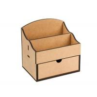 Комод-органайзер, 1 ящик, 20х15х20,5см, МДФ