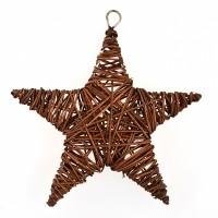 Звезда Yes! Fun ротанг коричневый 15 см