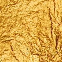 Поталь свободная золото №2 16х16см 25л