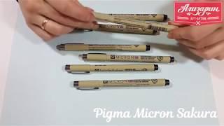 Видео обзор лайнеров Pigma Micron Sakura