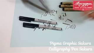 Видео обзор лайнеров Pigma Graphic Sakura